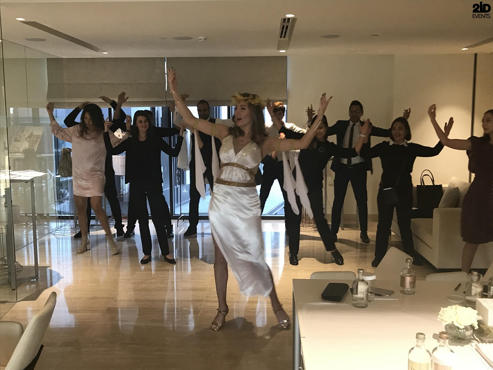GREEK DANCE MASTER CLASSES FOR PRODUCT LAUNCH