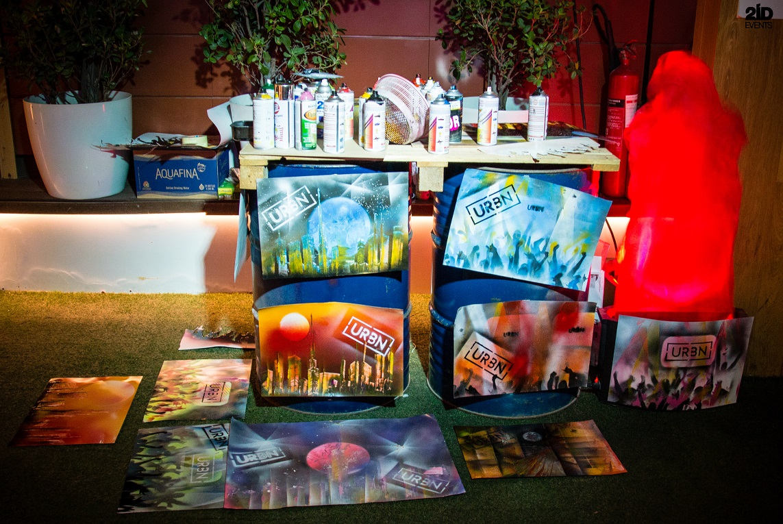 Spray Painter for themed events