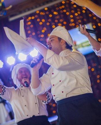SINGING CHEFS SHOW IN DUBAI