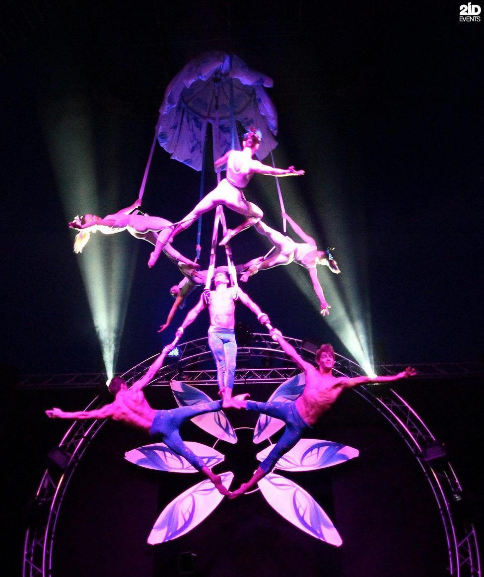Acrobats Show for festivals