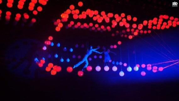 FLOATING IN LIGHTS DUO FOR THE SPECIAL EVENT