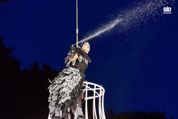 AERIAL THEATRICAL SHOW FOR FESTIVALS