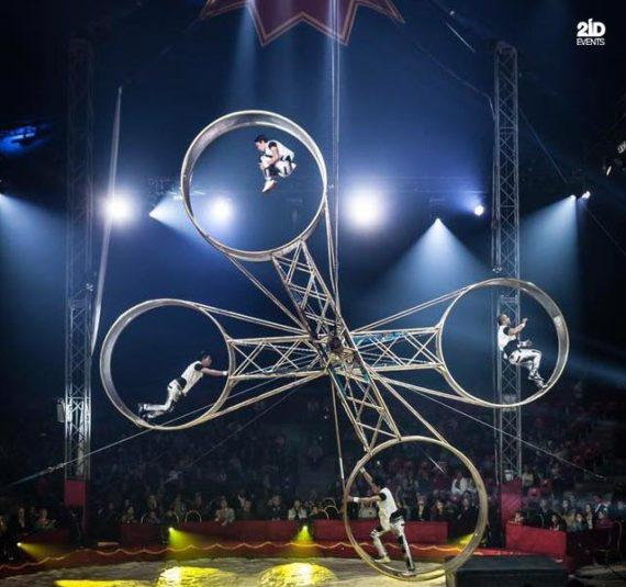 Extreme Wheels Show for circus events