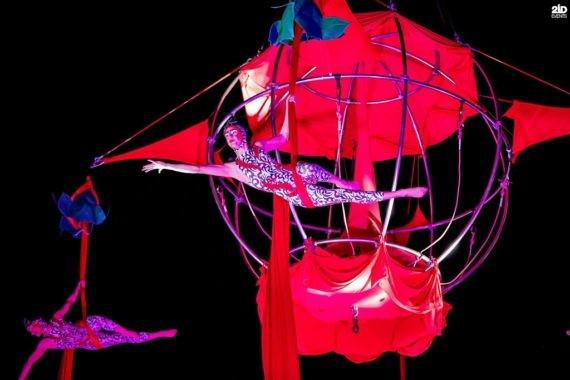 Acrobats Show for themed events
