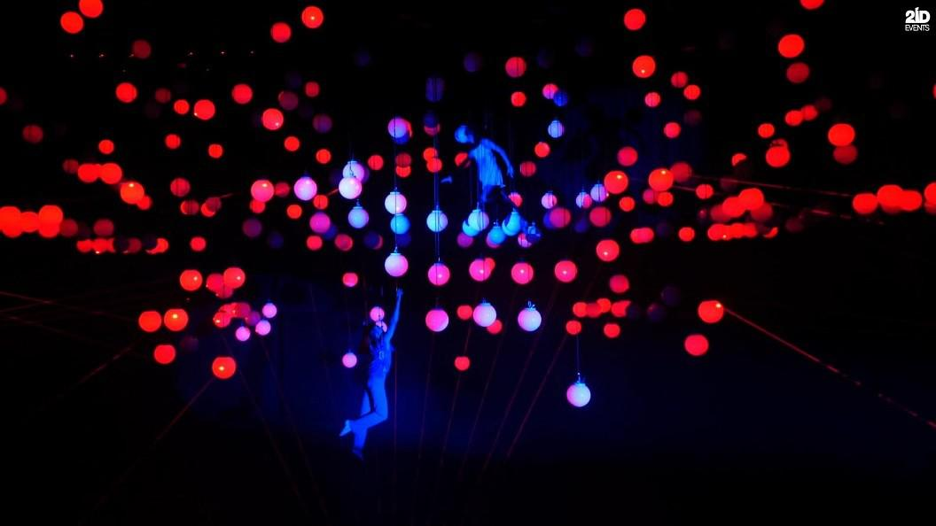 FLOATING IN LIGHTS DUO FOR THE PRIVATE EVENT