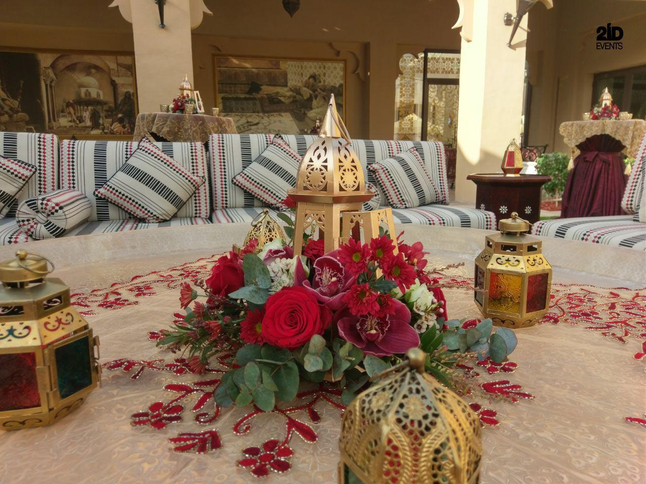 ARABIAN STYLE DECOR FOR CORPORATE EVENT