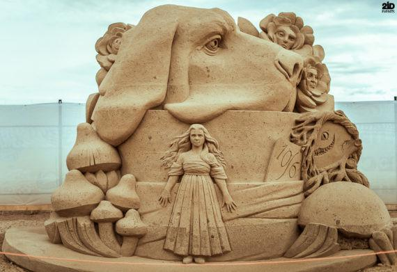 MALE SAND SCULPTURE ARTIST FOR SPECIAL EVENT