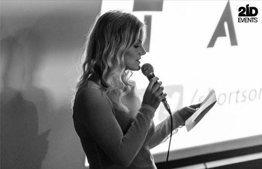 Female MC & Presenter for corporate events