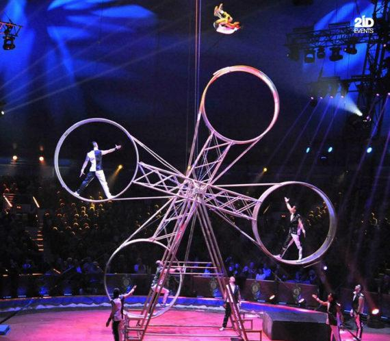Extreme Wheels Show for corporate events