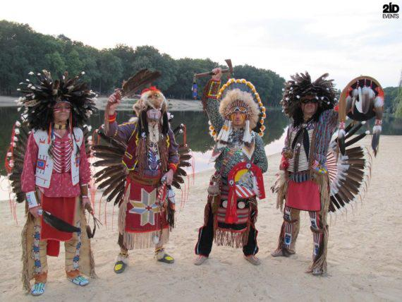 AMERICAN INDIAN SHOW FOR CORPORATE EVENTS
