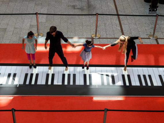 INTERACTIVE PIANO FOR CORPORATE EVENTS