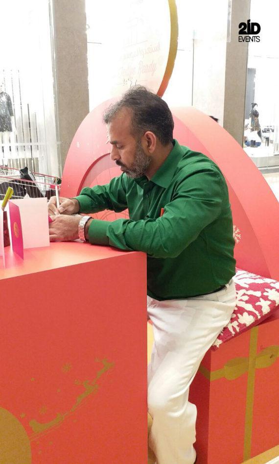 CALLIGRAPHER IN THE UAE