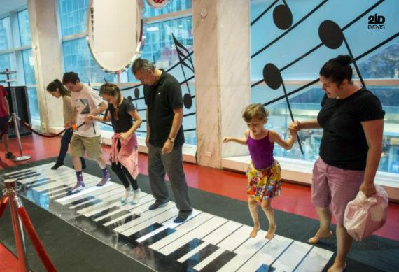INTERACTIVE PIANO FOR MALL ACTIVITIES