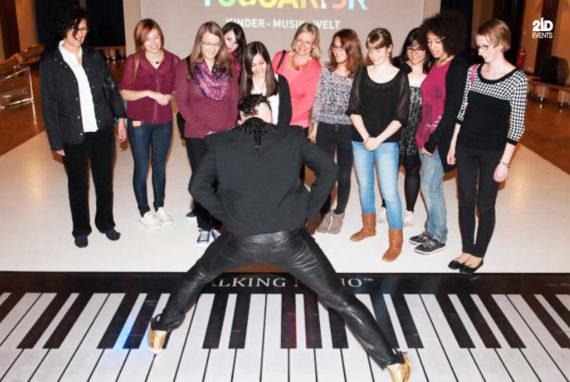 INTERACTIVE PIANO FOR PROMOTIONS