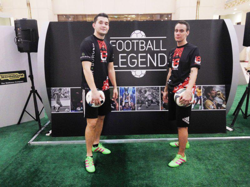 2ID - FOOTBALL FREESTYLERS FOR PUBLIC EVENT IN ABU DHABI