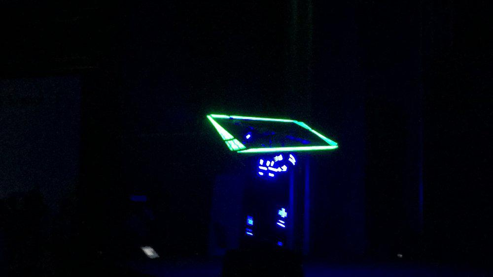 10 1 - LED CUBE SHOW - SAMSUNG S7 LAUNCH IN BAHRAIN