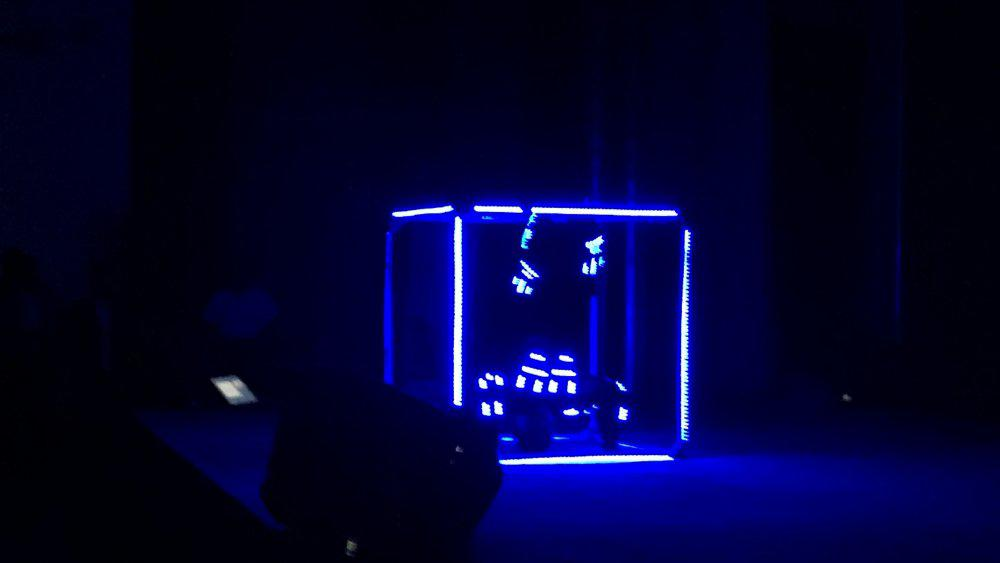 12 - LED CUBE SHOW - SAMSUNG S7 LAUNCH IN BAHRAIN