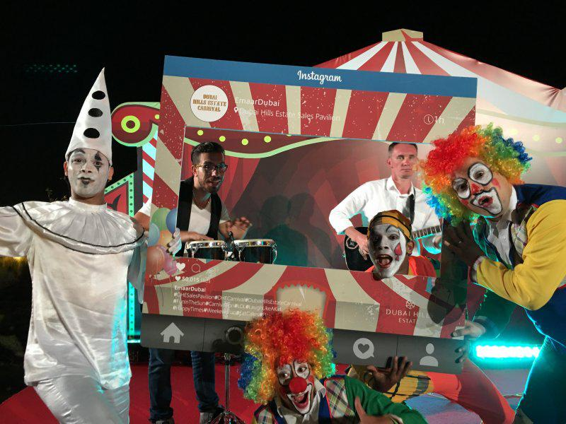 2ID - CARNIVAL THEME EVENT IN DUBAI