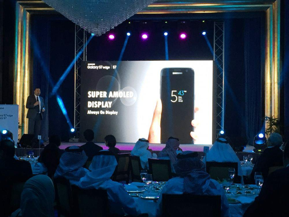 7 1 - LED CUBE SHOW - SAMSUNG S7 LAUNCH IN BAHRAIN