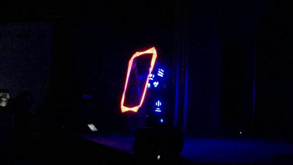9 1 - LED CUBE SHOW - SAMSUNG S7 LAUNCH IN BAHRAIN