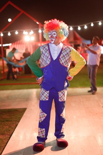 Clown in Dubai