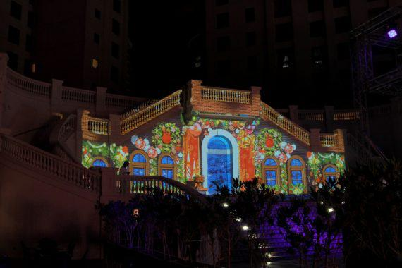 3D mapping in Dubai