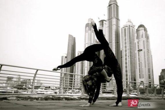 Acrobalance & aerial duo in Dubai
