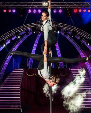 Female duo acrobats in Dubai