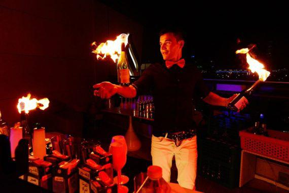 Bartender show in the UAE