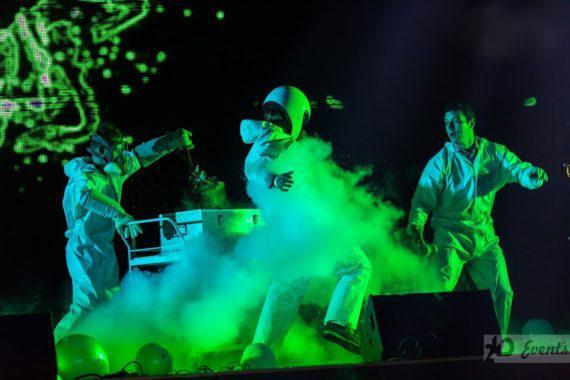 Chemical show - cryo effect in Dubai