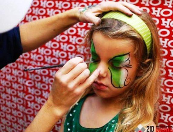 Face painting in Dubai