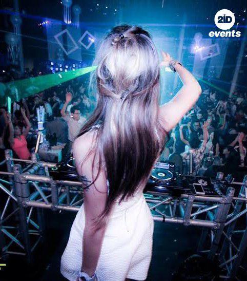Female DJ in Dubai