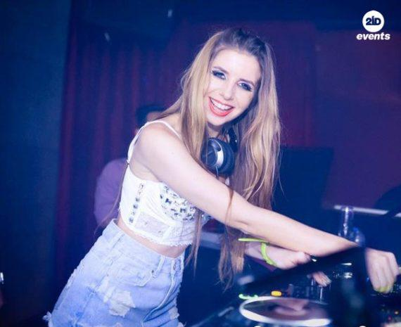 Female DJ in the UAE