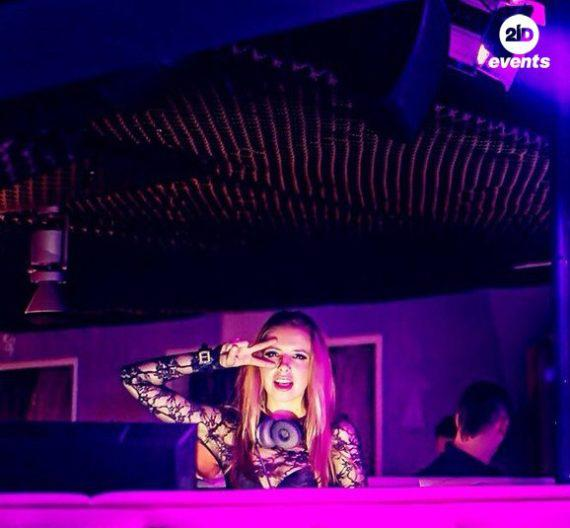 Female DJ in the UAE