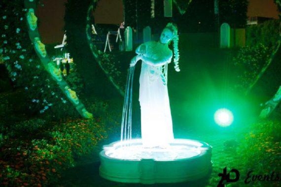 Live fountain in Dubai