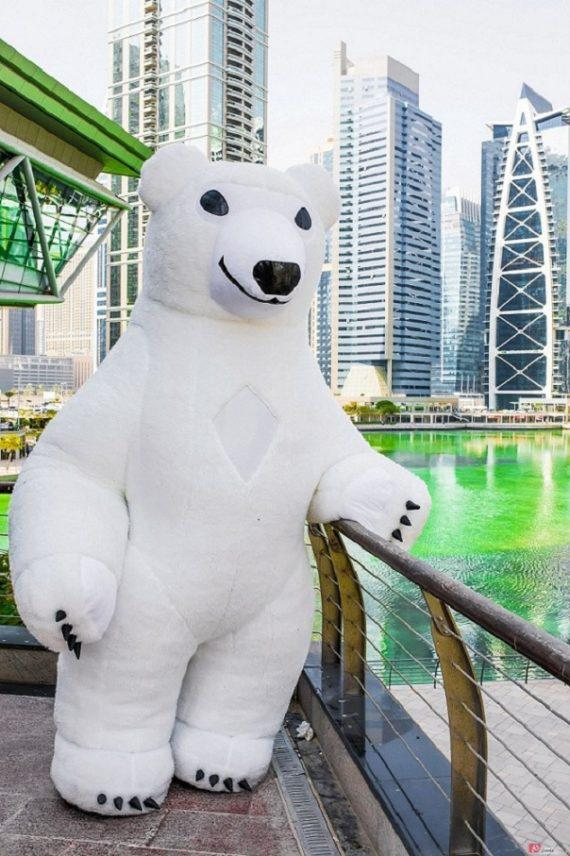 Mascots - inflatable characters in Dubai
