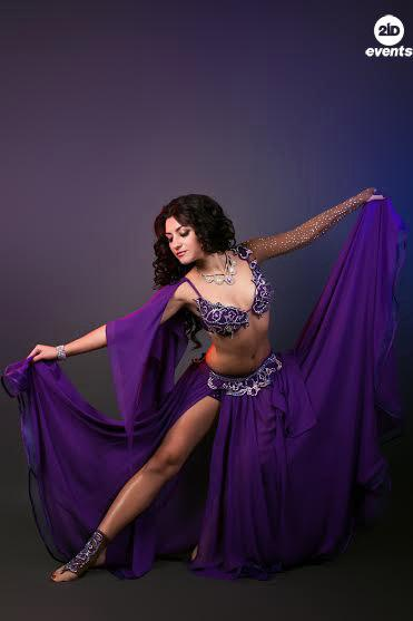 Oriental dancer in Dubai
