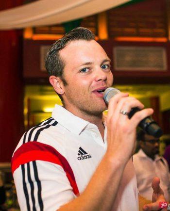 Radio presenter and MC in Dubai