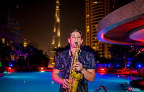 Saxophonist in Dubai