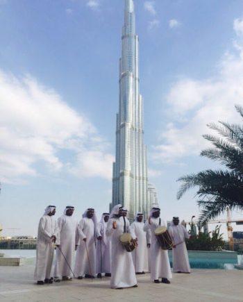 Ayallah dancers in Dubai