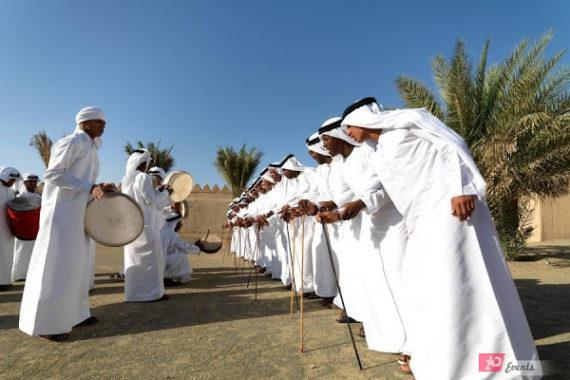 Ayallah dancers in Dubai