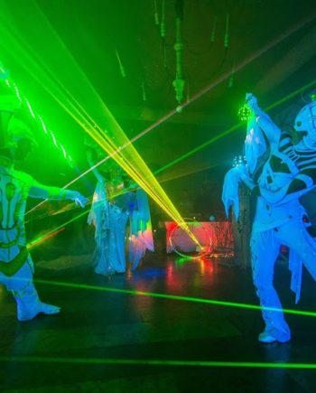 Illusion laser show in Dubai