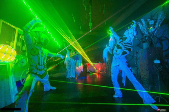 Illusion laser show in Dubai