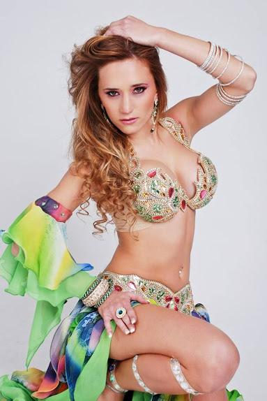 Belly dancer Marella in the UAE