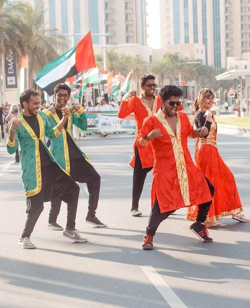 Bollywood dance group in Dubai