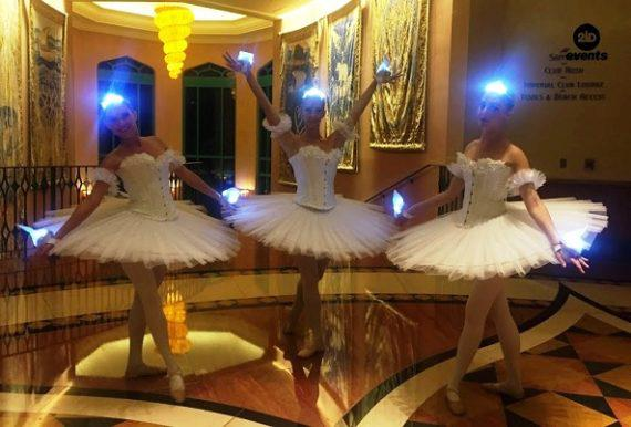 Breathtaking LED ballet in the UAE