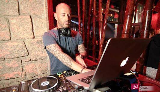DJ Oskar in Dubai