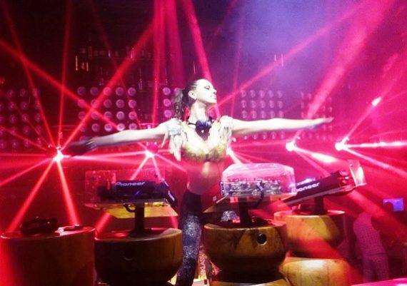 DJ Vicky in Dubai