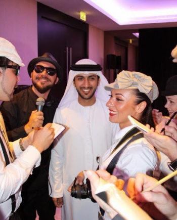 Fake paparazzi in Dubai