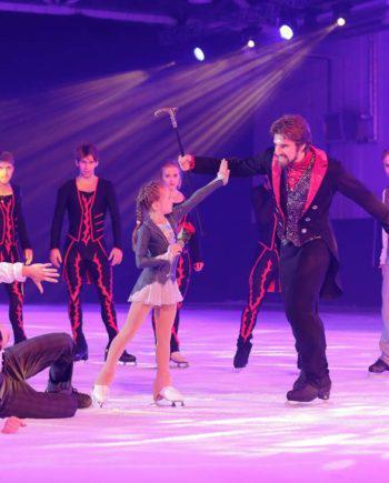 Ice skating show in Dubai